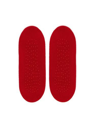Katia & Bony Lovers Bebek Görünmez Çorap  Kırmızı